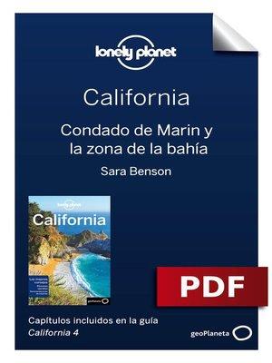 cover image of California 4_3. Condado de Marin y la zona de la bahía