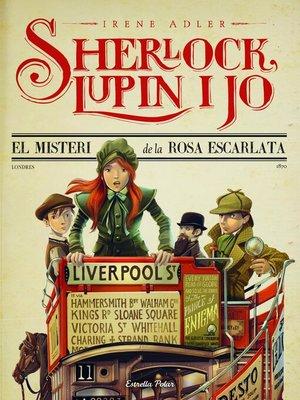 cover image of 3. El misteri  de la rosa escarlata
