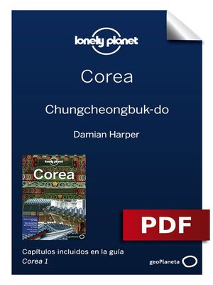cover image of Corea 1. 11. Chungcheongbuk-do