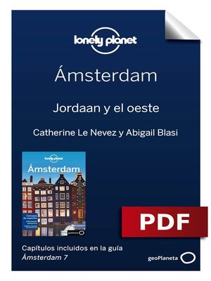 cover image of Ámsterdam 7_6. Jordaan y el oeste