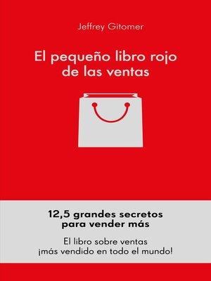 cover image of El pequeño libro rojo de las ventas