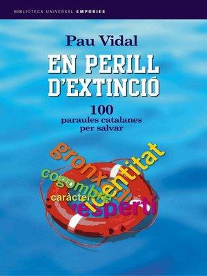 cover image of En perill d'extinció.