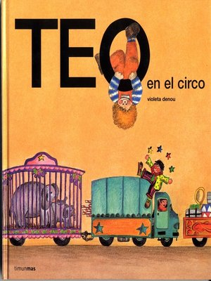 cover image of Teo en el circo