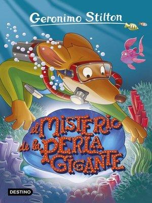 cover image of El misterio de la perla gigante