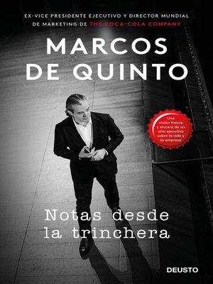 cover image of Notas desde la trinchera