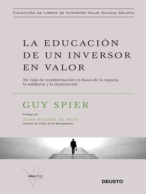 cover image of La educación de un inversor en valor