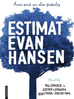 cover image of Estimat Evan Hansen