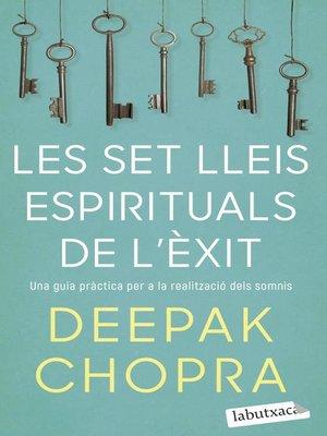 cover image of Les set lleis espirituals de l'èxit
