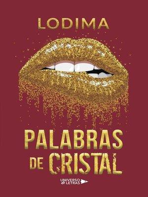 cover image of Palabras de Cristal