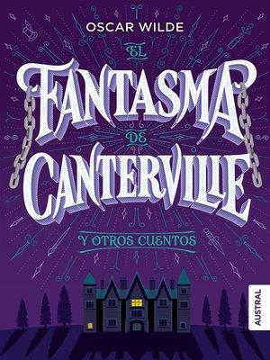 cover image of El fantasma de Canterville y otros cuentos