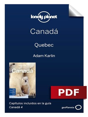 cover image of Canadá 4. Quebec