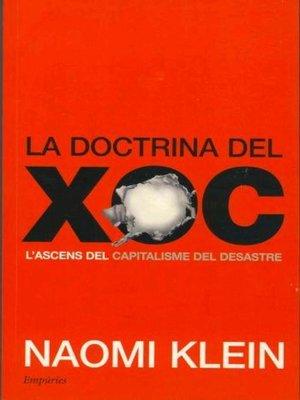 cover image of La doctrina del xoc