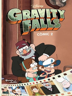 cover image of Gravity Falls. Cómic 2