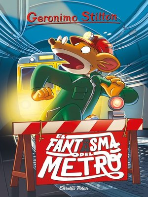 cover image of El fantasma del metro