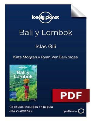 cover image of Bali y Lombok 1. Islas Gili
