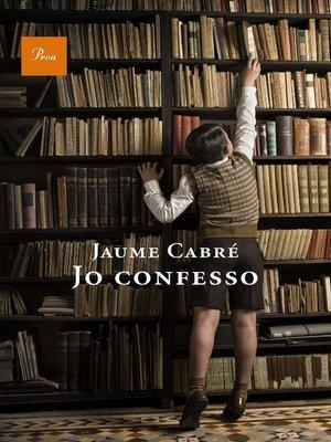 cover image of Jo confesso