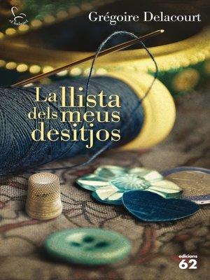 cover image of La llista dels meus desitjos