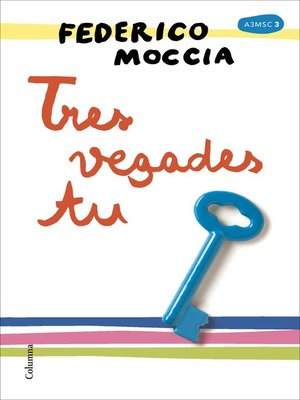 cover image of Tres vegades tu