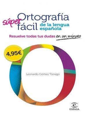 cover image of Ortografía fácil de la lengua española.