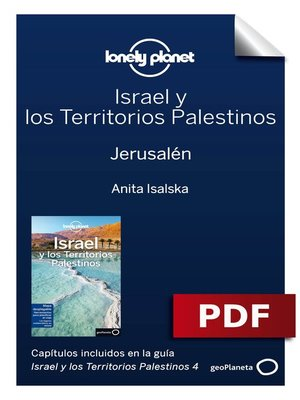 cover image of Israel y los Territorios Palestinos 4_2. Jerusalén