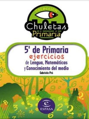 cover image of 5º de Primaria fácil. Libro de Ejercicios