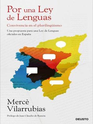 cover image of Por una Ley de Lenguas