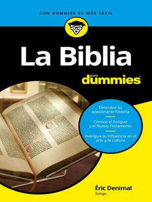 cover image of La Biblia para Dummies