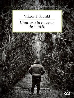cover image of L'home a la recerca de sentit
