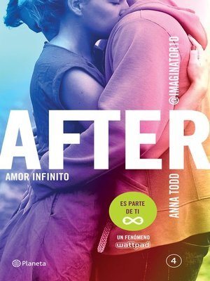 cover image of After. Amor infinito (Serie After 4) Edición mexicana