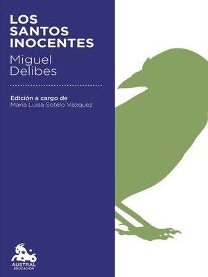 cover image of Los santos inocentes