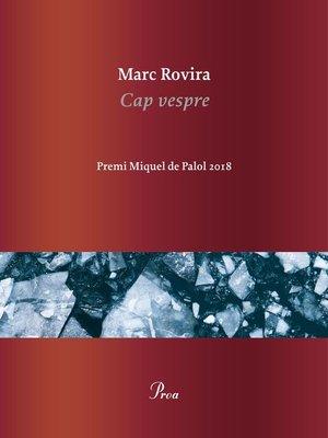 cover image of Cap vespre