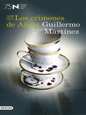 cover image of Los crímenes de Alicia