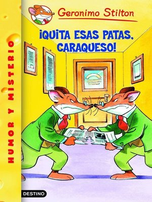 cover image of ¡Quita esas patas, caraqueso!