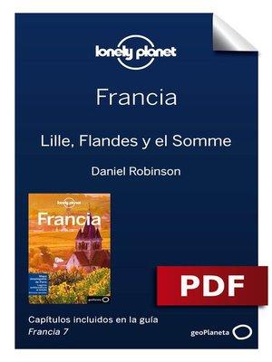 cover image of Francia 7. Lille, Flandes y el Somme
