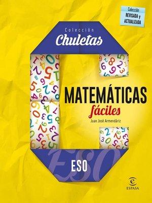 cover image of Matemáticas fáciles ESO