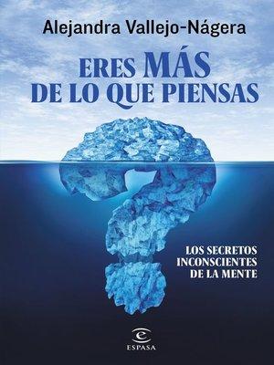 cover image of Eres más de lo que piensas