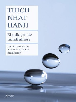cover image of El milagro de mindfulness