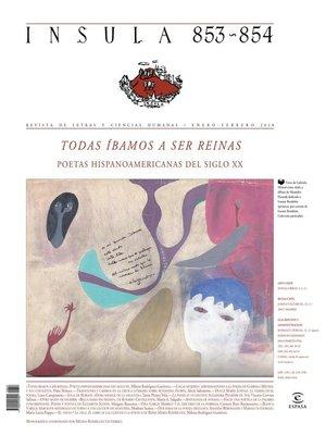cover image of Todas íbamos a ser reinas. (Ínsula n° 853-854, enero-febrero de 2018)