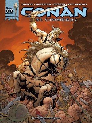 cover image of Conan el cimmerio nº 03/17