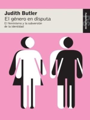 cover image of El género en disputa