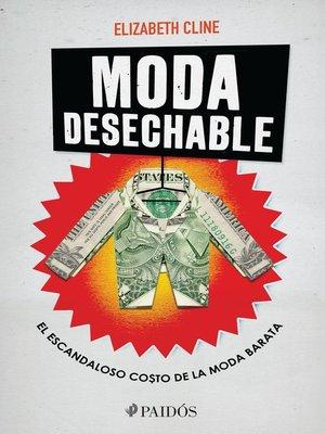 cover image of Moda desechable