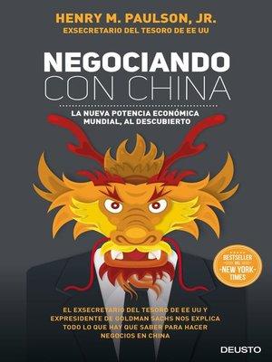 cover image of Negociando con China