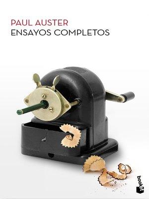 cover image of Ensayos completos