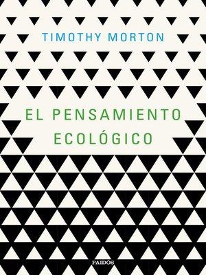 cover image of El pensamiento ecológico