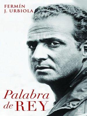 cover image of Palabra de rey