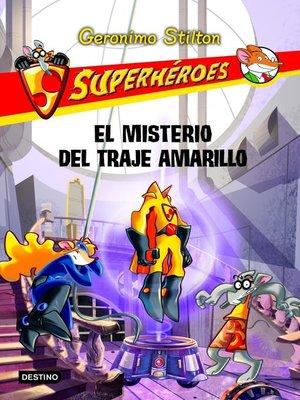 cover image of El misterio del traje amarillo