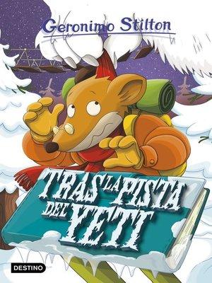 cover image of Tras la pista del yeti