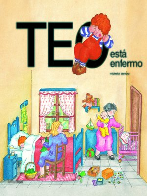 cover image of Teo está enfermo