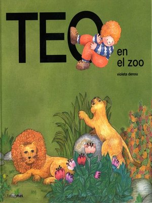 cover image of Teo en el zoo