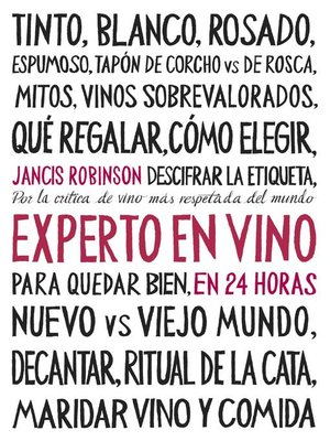 cover image of Experto en vino en 24 horas